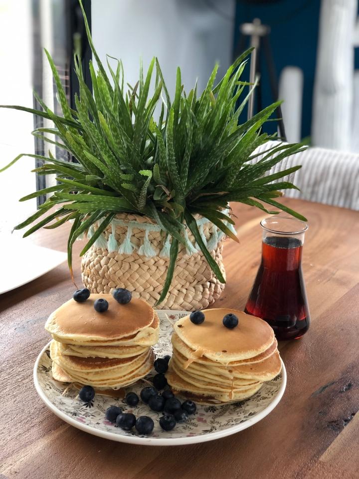 Pancakes New-Yorkais !